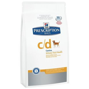 Hill's Prescription Diet C/D Canine Urinary Tract Health dry (2 кг)