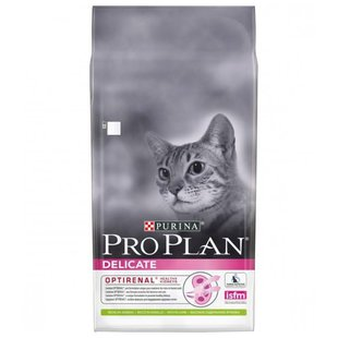 Корм для кошек Purina Pro Plan Delicate feline rich in Lamb dry