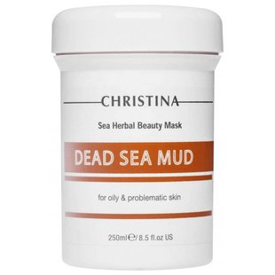 Christina Маска Sea Herbal Beauty Dead Sea Mud Mask for oily & problem skin