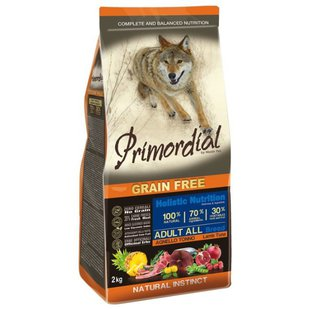 Корм для собак Primordial Grain Free Adult All Breed Lamb Tuna