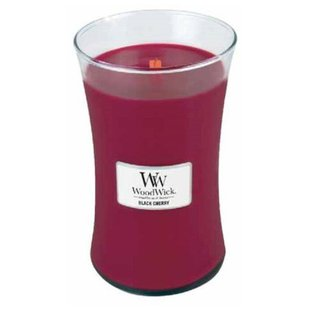 Свеча WoodWick Black Cherry (93100), большая