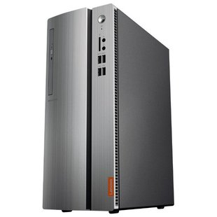 Настольный компьютер Lenovo 510S-07ICB (90K8001WRS) Mini-Tower/Intel Pentium G5400/4 ГБ/1024 ГБ HDD/Intel UHD Graphics 610/DOS