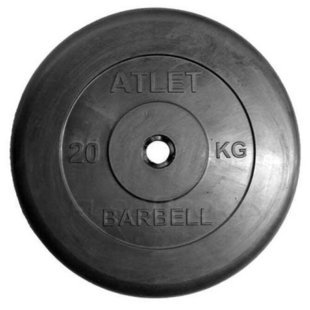 Диск MB Barbell MB-AtletB31 20 кг