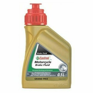 Тормозная жидкость Castrol Motorcycle Brake Fluid DOT3/DOT4 0.5 л
