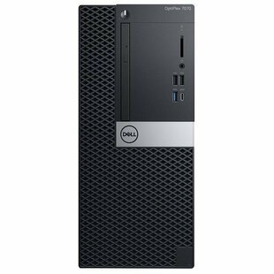 Настольный компьютер DELL Optiplex 7070 MT (7070-6756) Mini-Tower/Intel Core i7-9700/8 ГБ/256 ГБ SSD/AMD Radeon RX 550/Windows 10 Pro
