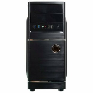 Настольный компьютер iRu Home 312 (1444115) Full-Tower/Intel Pentium Gold G5420/8 ГБ/1 ТБ HDD/Intel UHD Graphics 610/DOS
